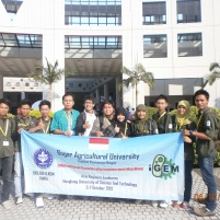 Tim iGEM IPB dan Dr. Rimbawan