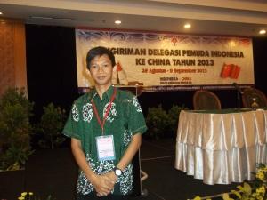 Pre Depature Training Program Pertukaran Pemuda Indonesia China 28-30 Agustus 2013