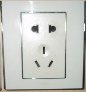 Colokan Listrik di China/ Electrical Plug in China