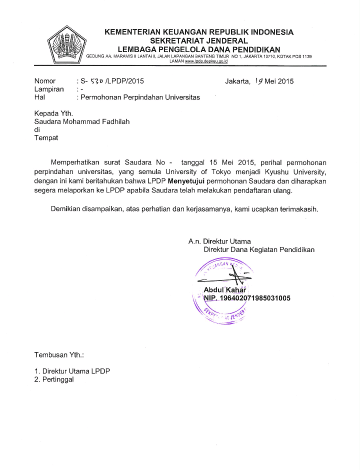 Format Surat Izin Kuliah Gumus Northeastfitness Co